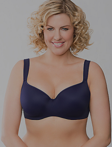 Cacique Full Figured Smoothing Balonette Bra