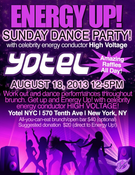 Energy Up Yo! Brunch - August 18th, 2013