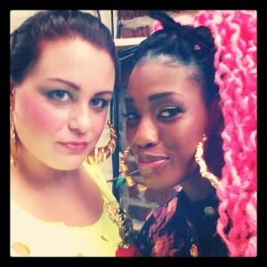 @PreciousKissOfDeath and myself (@xosersclub) on instagram