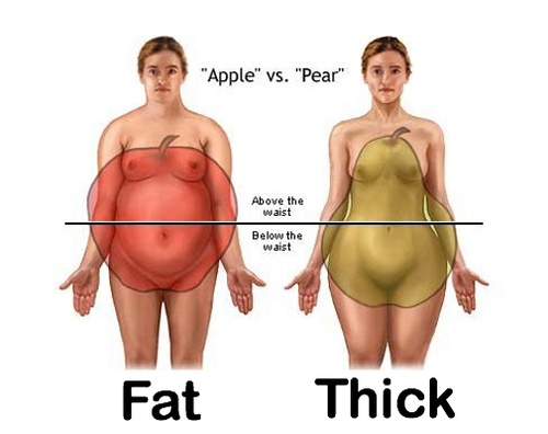 Or fat curvy What Does