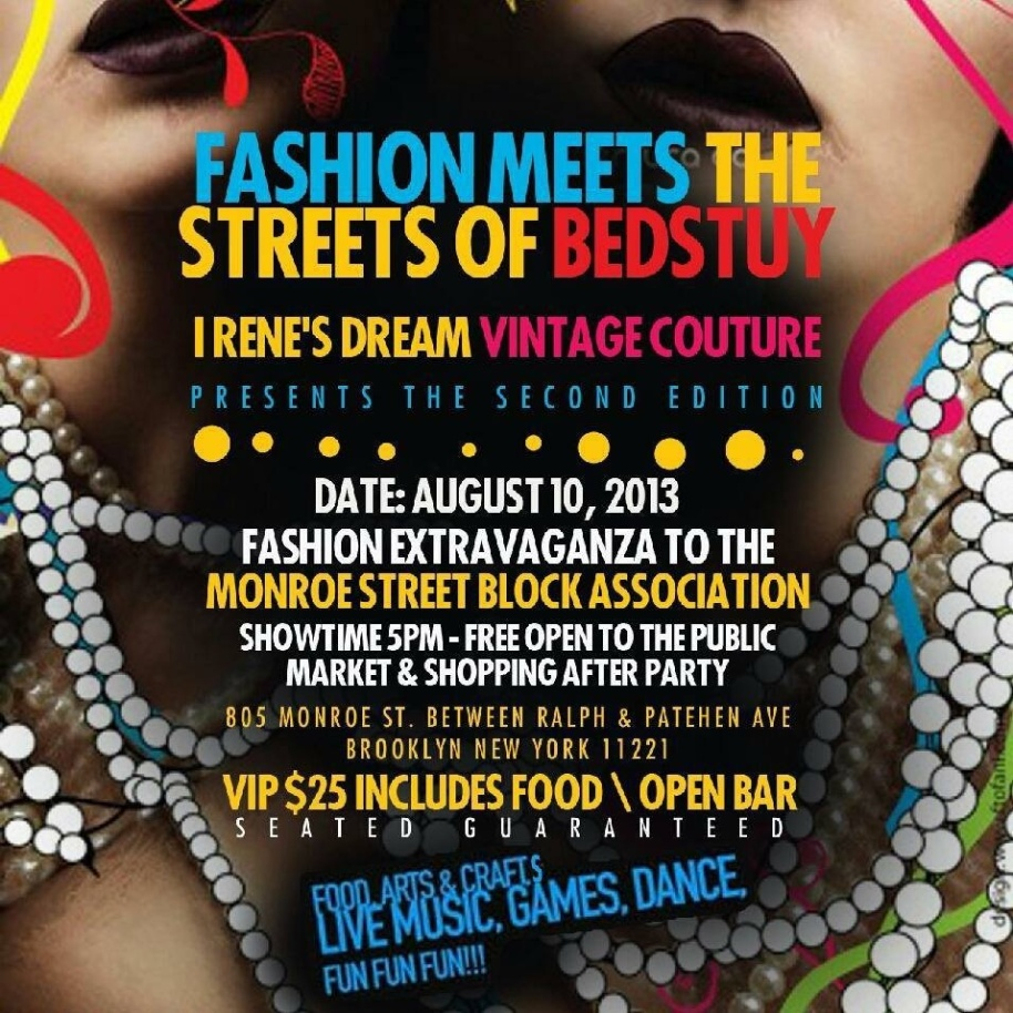 Irene's Dream Fashion Show & Shopaganza!