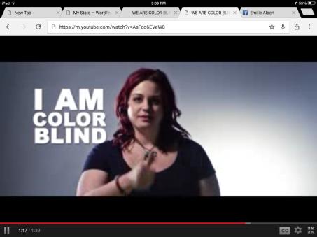 "Video Still - ""Color Blind"" PSA"