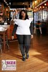 Tahirah Sharif wearing Curvy and Curious